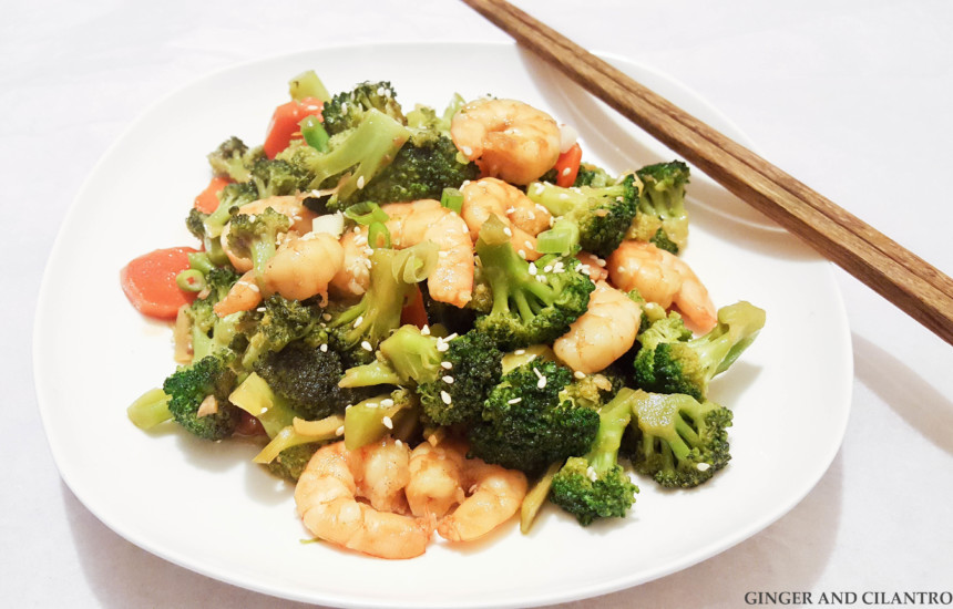 Char's Shrimp and Broccoli Stir-Fry