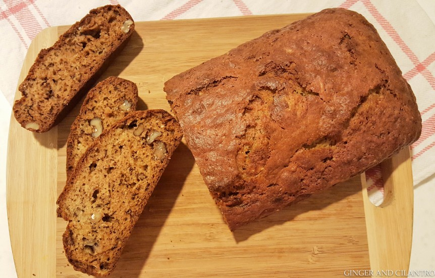 Easy Banana Walnut Loaf